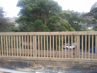 1.2 High Balustrade Fence