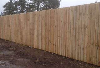 Acoustic Style Fence