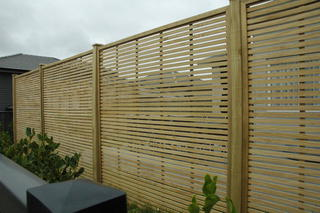 Oriental Trellis Fence Screen