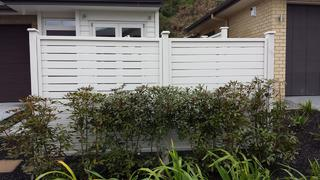 Painted Dressed Horizontal Fence  Please Note: We do not provided painting services